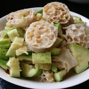 2斤装凉拌菜面藕团购燕麦筋圈素干货肥肠面筋常熟面片大闸蟹图片